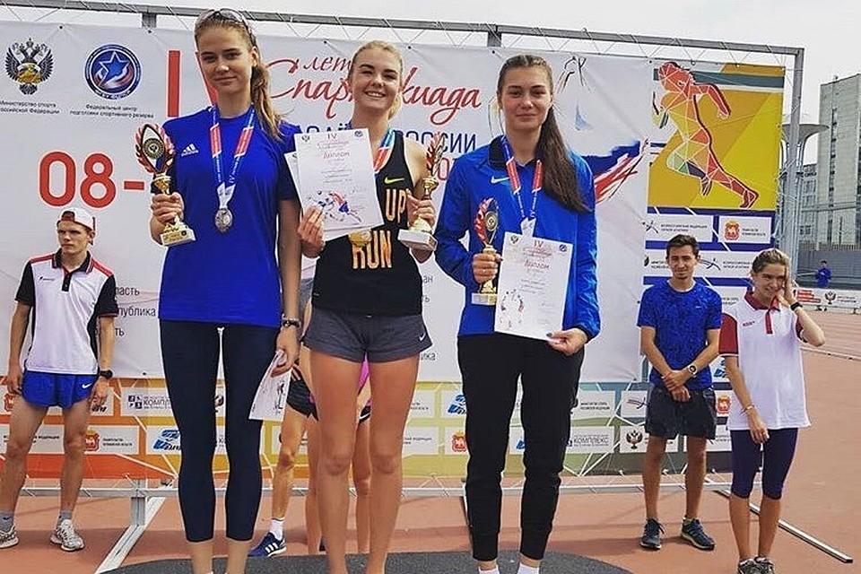 Южноуральские легкоатлеты заняли 4 место наСпартакиаде молодежи Российской Федерации