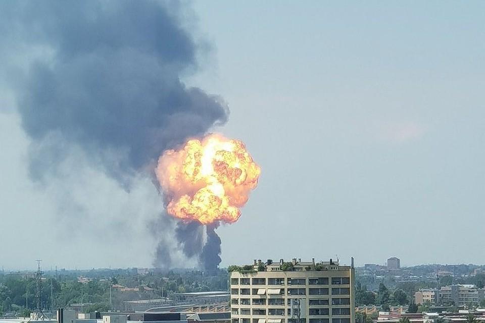Неменее  60 раненных, покрайней мере , трое погибших— Взрывы вИталии