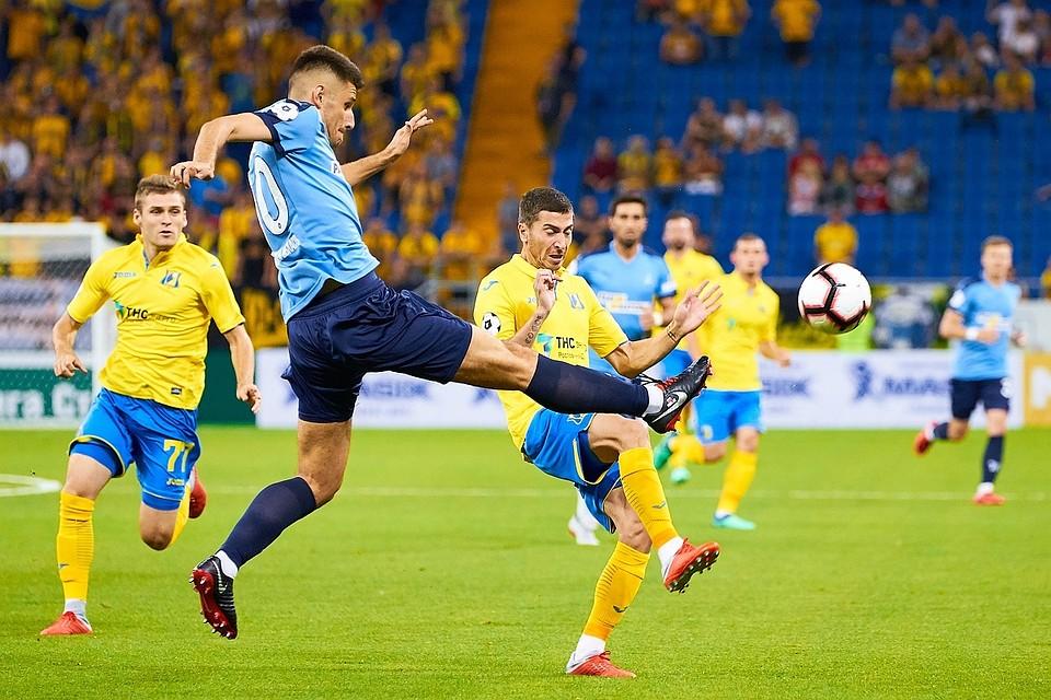 Самарские «Крылья Советов» добиваются первой всезоне победы, обыграв «Ростов»