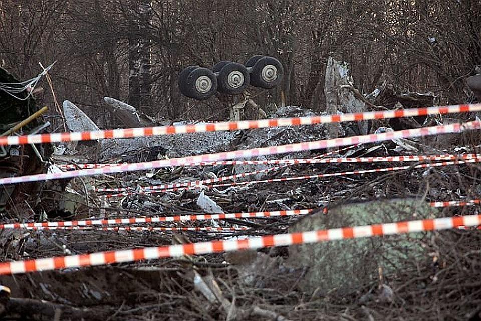 Смоленская трагедия: РФприменяет чрезвычайные меры для защиты фрагментов самолета
