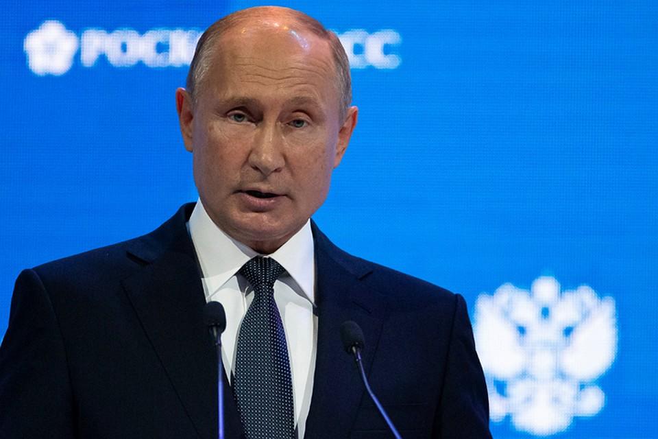 Путин пожелал, чтобы против РФ  ввели сразу все санкции