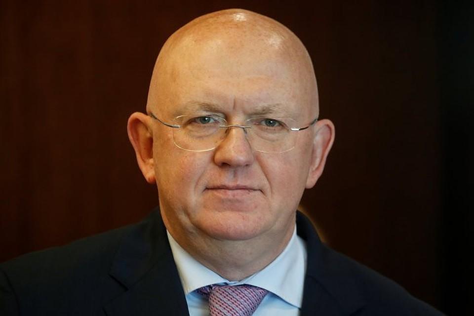 Небензя объявил , чтоЕС иСША виноваты  вневыполнении Киевом минских договоренностей
