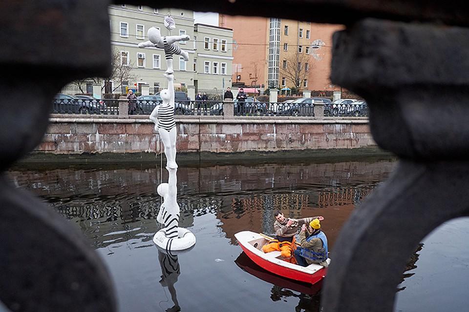 Шестиметровый арт-объект появится вакватории канала Грибоедова