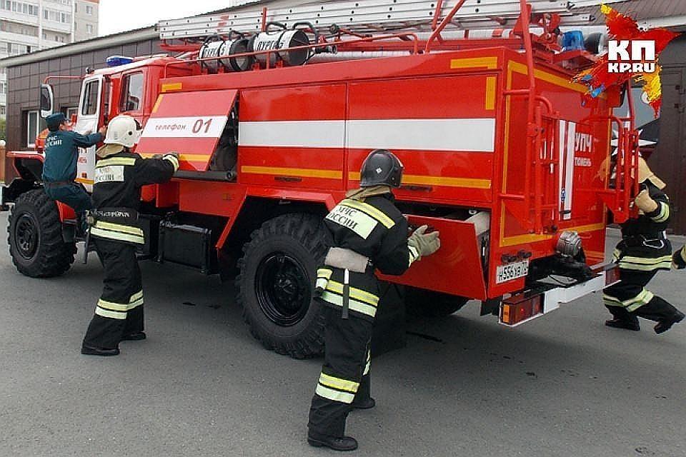 В здании консерватории имени Чайковского вспыхнул пожар