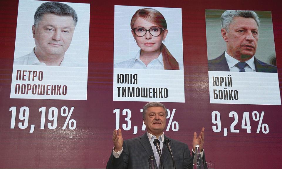 ЦИК обнародовала заключительные результаты первого тура выборов президента Украинского государства