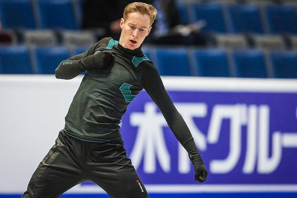 Александр Самарин представит сборную России в соревновании мужчин