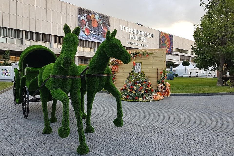В Музеоне открылся фестиваль Moscow Flower Show