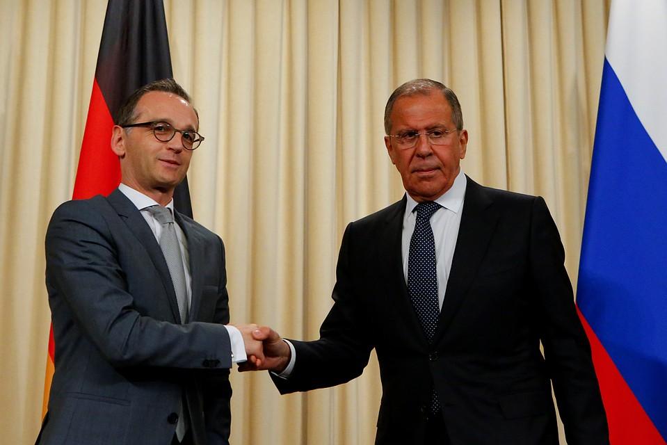 Лавров обсудил сглавой МИД Германии перспективы выполнения минских договоров