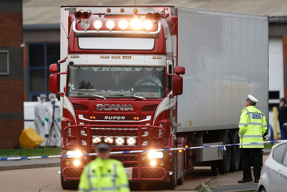 ВСоединенном Королевстве Великобритании  схвачен  четвертый фигурант дела о39 трупах вгрузовике