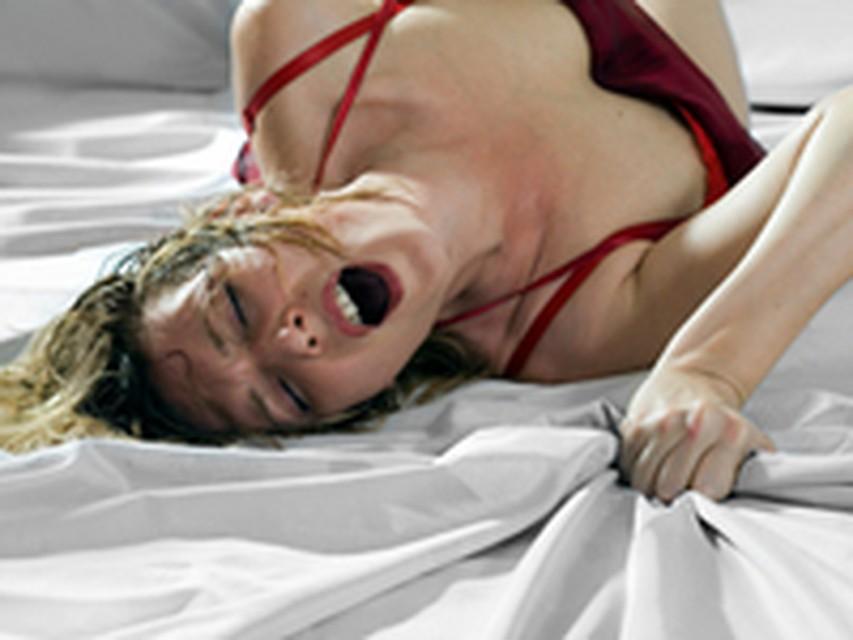 Порно трясутся во время оргазма
