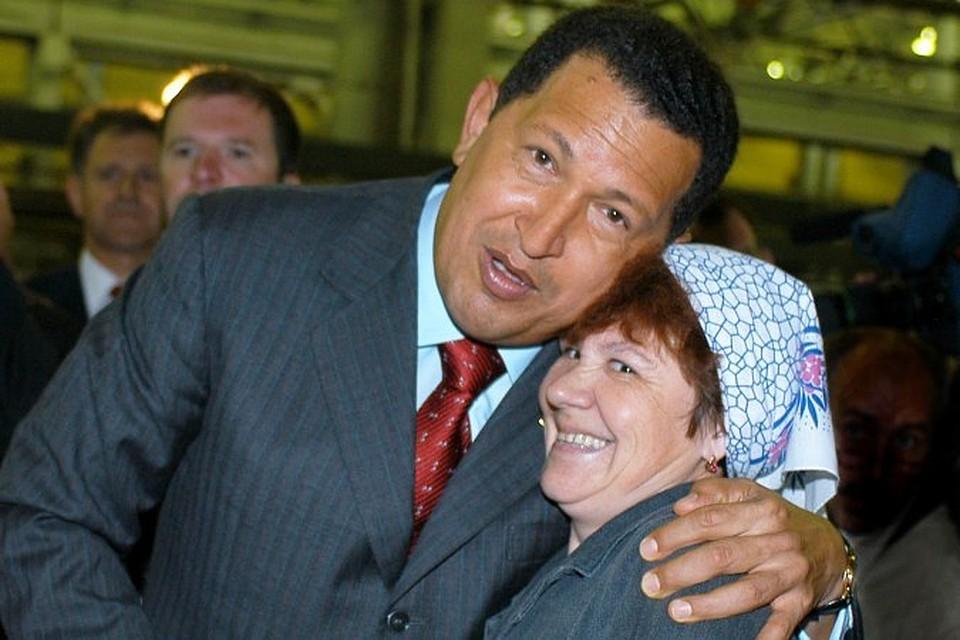 В 2006 году в Ижевск приезжал Уго Чавес