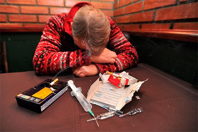 В России стало на полмиллиона меньше наркоманов
