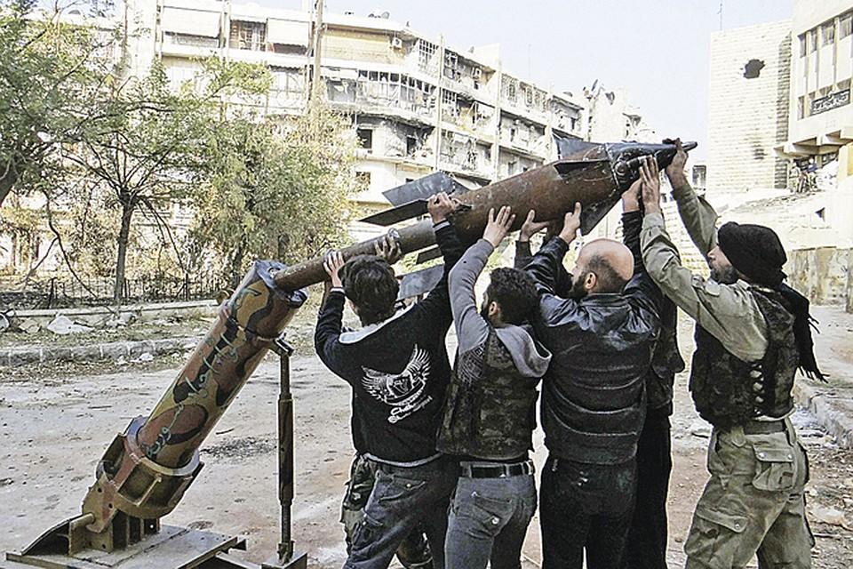 Ракеты и пусковые установки сирийских исламистов научили мастерить ливийские «братья».