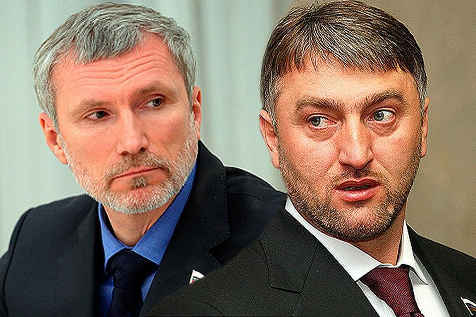 В Госдуме подрались депутаты.
