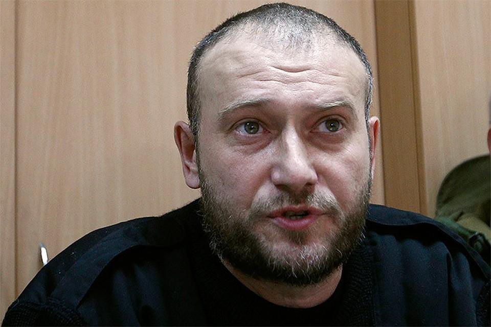 Лидер ультрарадикального движения «Правый сектор» Дмитрий Ярош