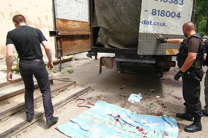 Украинские войска в Донецке пленных не берут, убитых ополченцев ДНР вывозят грузовиками