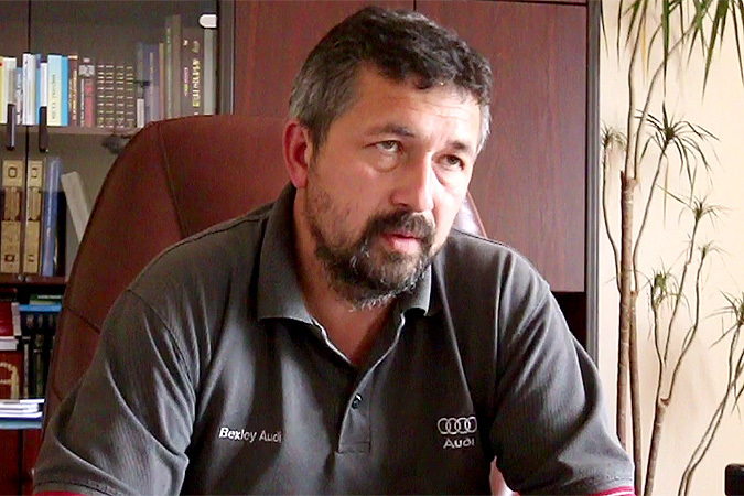 Премьер-министр ЛНР Василий Никитин: Мы контролируем 150-200 километров границы Фото: Александр КОЦ