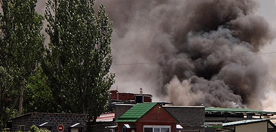 Вокруг Славянска есть деревни, находящиеся между двух огней