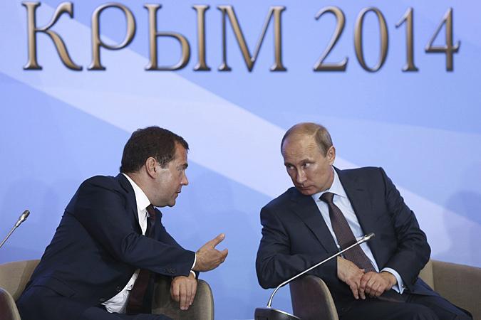 Своей речью в Крыму Путин взял курс на примирение с Западом, считает наш колумнист