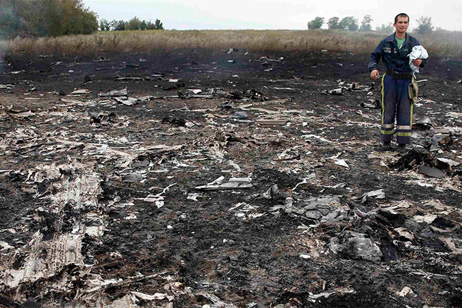 17 июля пассажирский Boeing-777 авиакомпании Malaysia Airlines рухнул на территории Украины