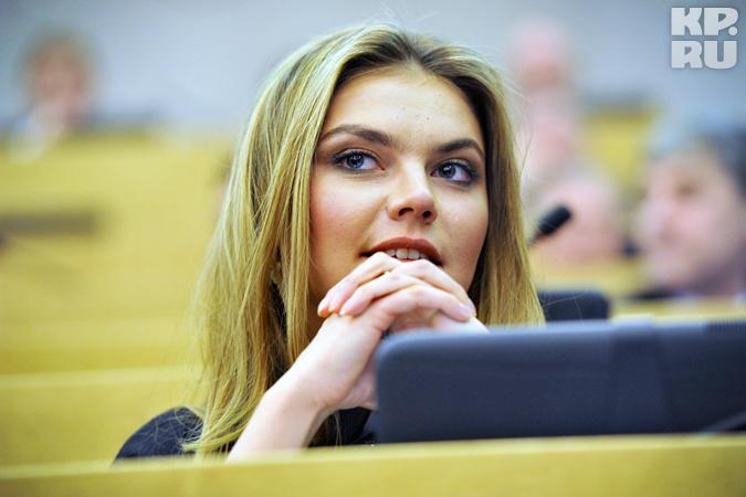 Кабаева была избрана в Госдуму от Татарстана