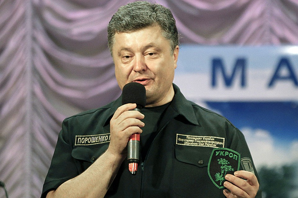 Петр Порошенко внес в украинский парламент законопроект о введении на три года особого статуса и порядка управления в Донецкой и Луганской областях