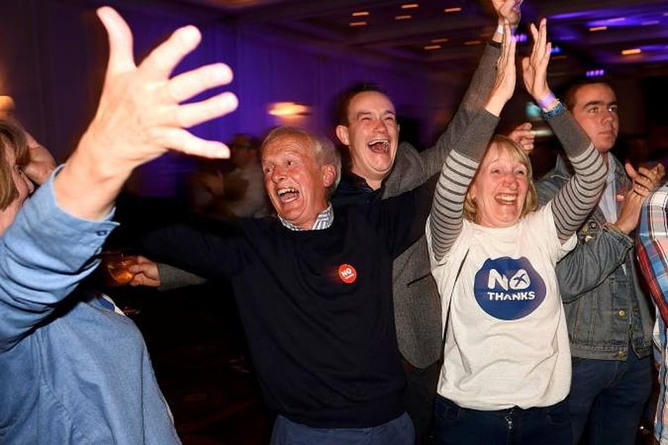 Итоги референдума в Шотландии: Противники независимости набрали большинство голосов