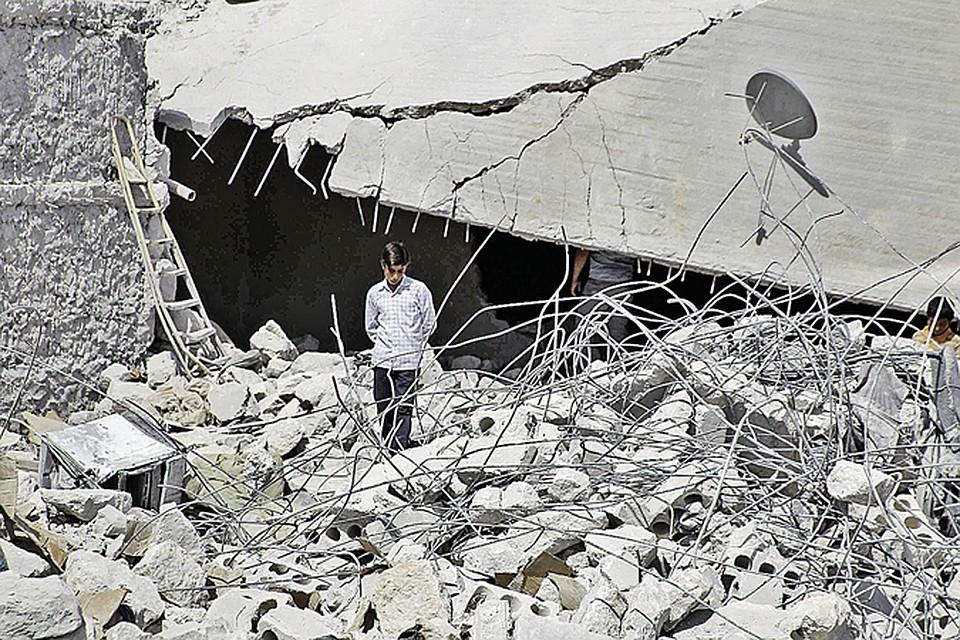 Американские ракеты летят не только в объекты боевиков. Первым же ударом поСирии США «ликвидировали» около50террористов и ... десяток мирных жителей.