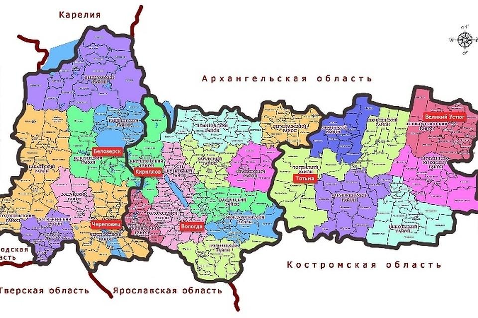 Карта: мурманская область