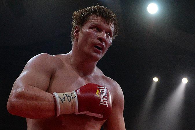 Россиянин Александр Поветкин отправил в нокаут соперника
