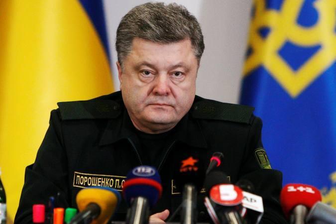 """Президент Украины Петр Порошенко считает """"лучшим форматом"""" для своей страны полицейскую миссию Евросоюза"""