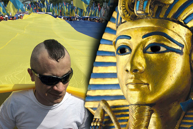 Украинский ученый Валерий Бебик ищет украинские корни всюду - от Древнего Египта до Пушкина