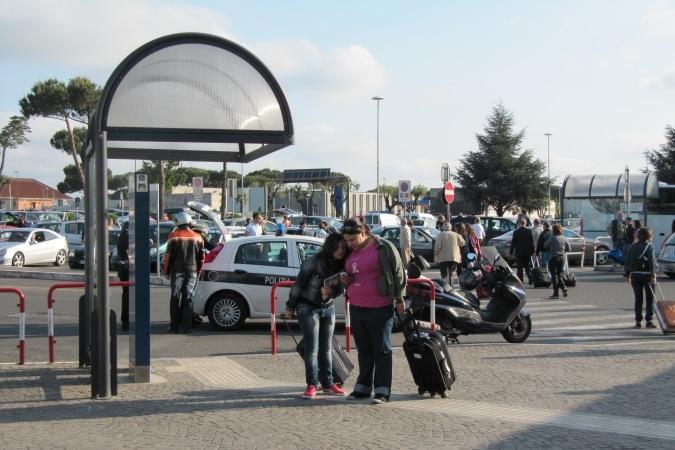 Римский аэропорт Чампино. Сюда можно улететь дешевле всего.