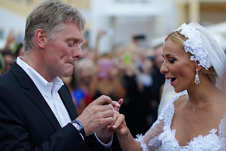 Песков его свадьба фото