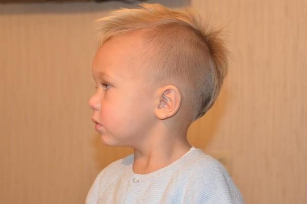 Стрижки для малышей 1 год