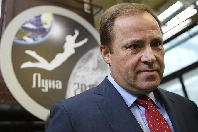 Глава Госкорпорации «Роскосмос» Игорь Комаров: Наши космонавты полетят на Марс. Но сначала мы построим базу на Луне