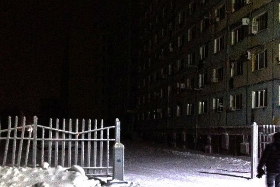Дудинка погрузилась во тьму в ночь на 5 января Фото: Михаил Мурашко