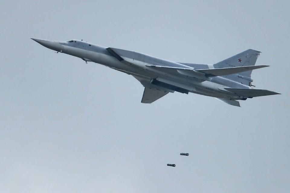 Дальними бомбардировщиками Ту-22м3 с территории Российской Федерации было совершено 18 боевых вылетов