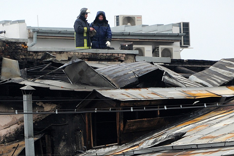 Дом 25 по улице Стромынка загорелся вечером в субботу, 30 января