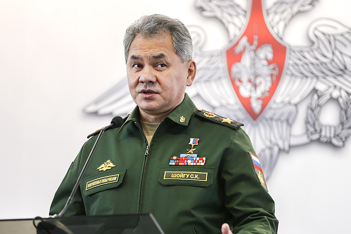 Министр обороны РФ Сергей Шойгу. Фото: Сергей Савостьянов/ТАСС