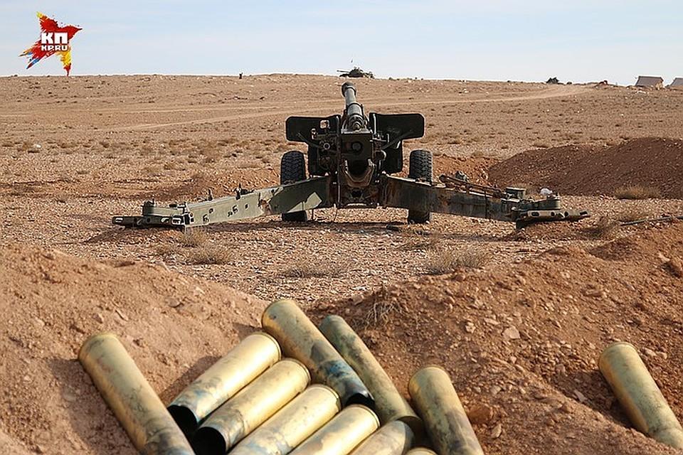 Турецкие военные обстреляли из артиллерийских орудий позиции бойцов курдских сил в Сирии
