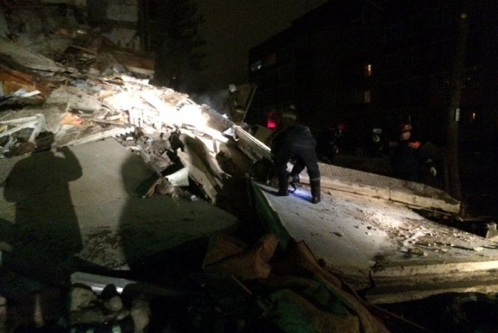 В Ярославле взорвался жилой дом. Фото: пресс-служба МЧС России