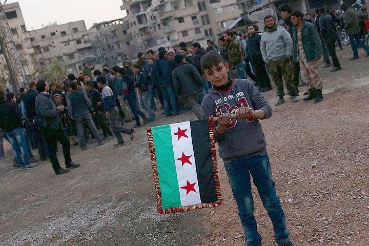 Сирийская оппозиция согласилась соблюдать перемирие.