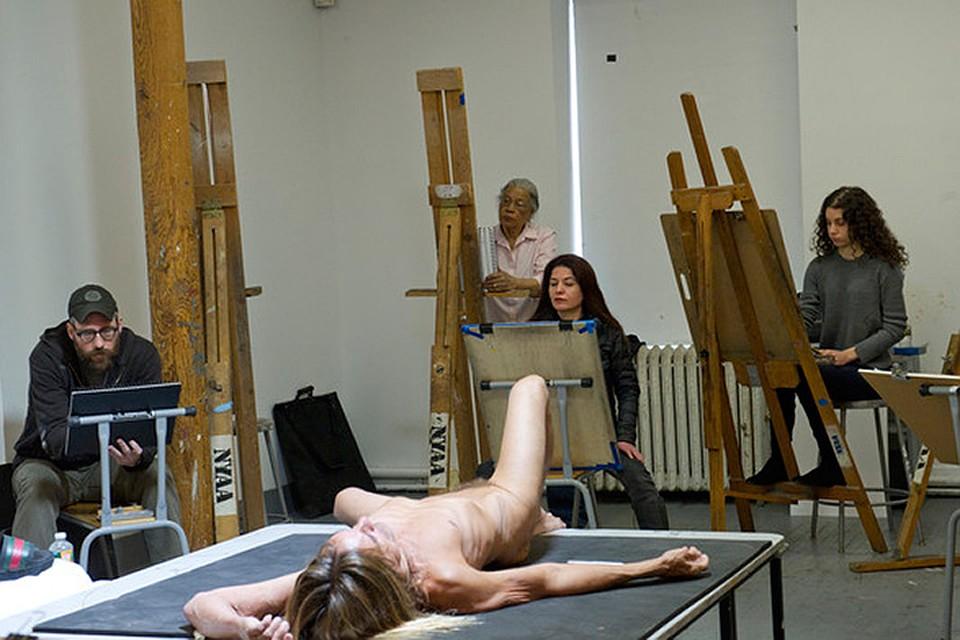 Игги Поп согласился стать моделью - причем сразу для целой группы художников