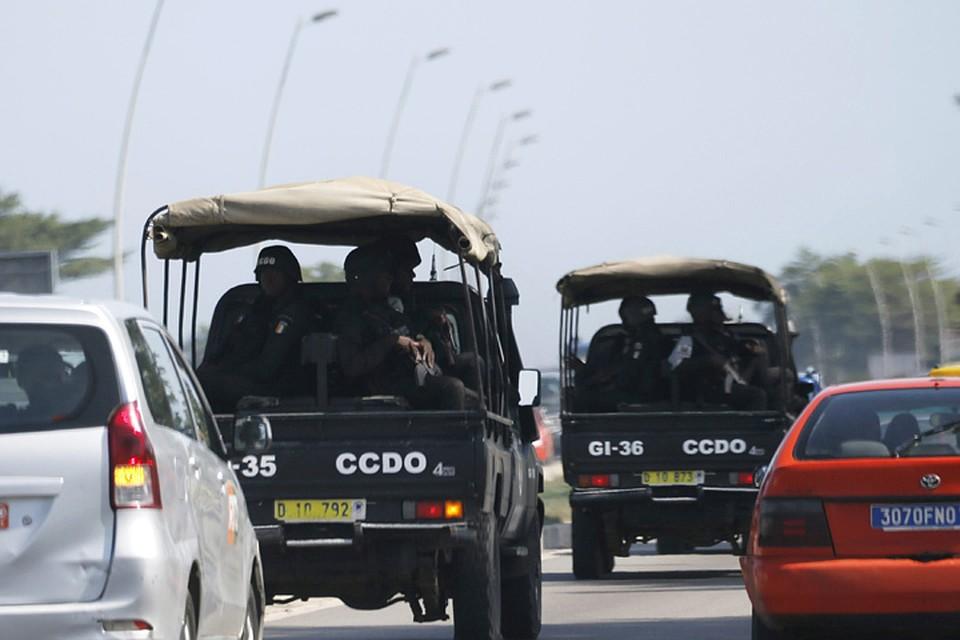Спецслужбы направляются на место стрельбы