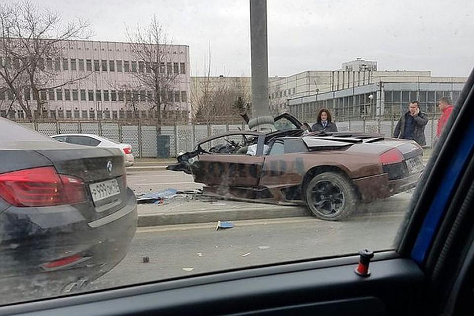дтп маршрутки и ламборджини иркутск