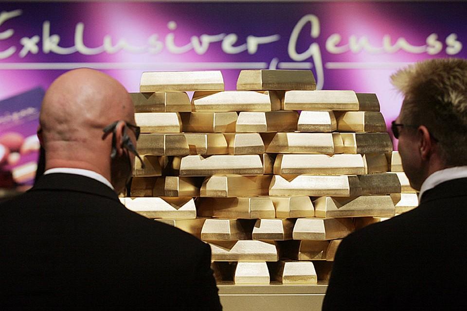 Германия ускоренными темпами возвращает золотой запас из США