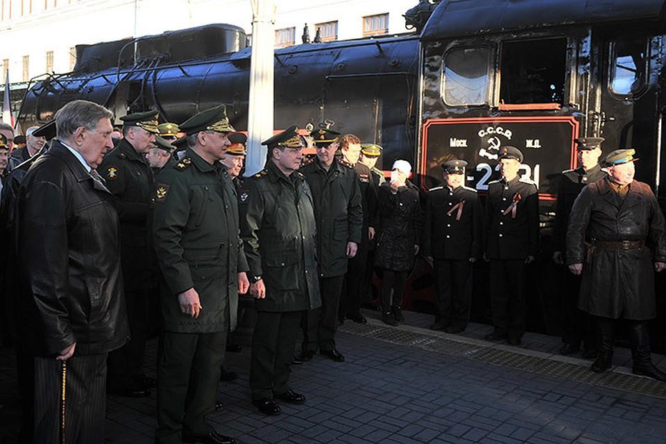 Поезд Победы отправился из столицы воВладивосток