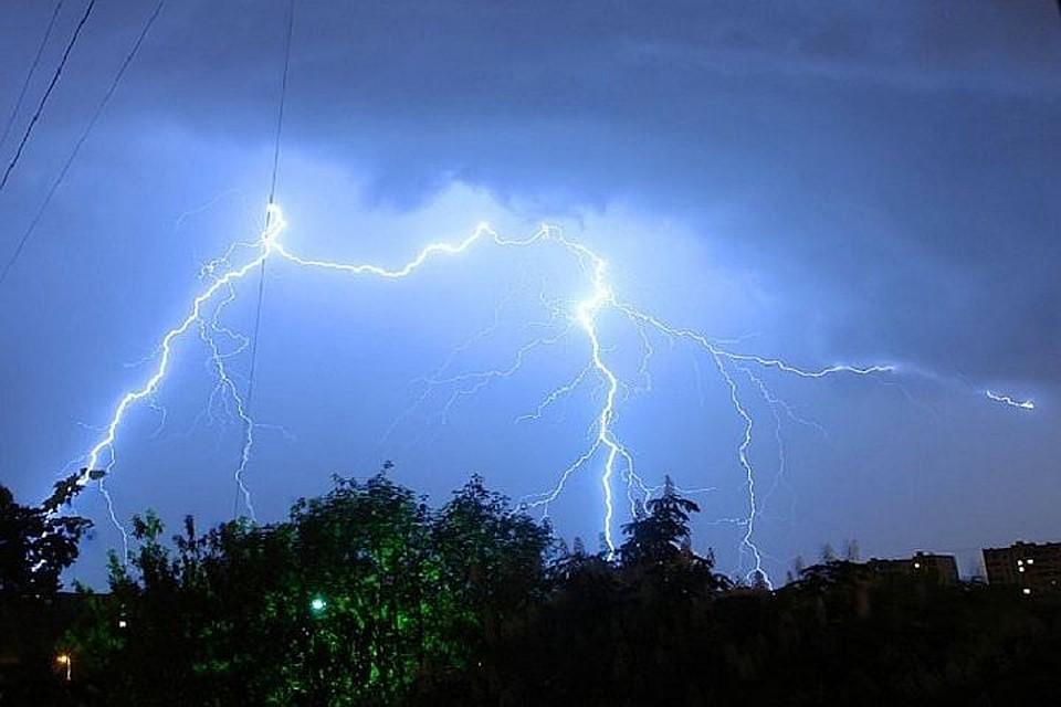 Жителей столицы предупреждают осильном ветре игрозе 4мая