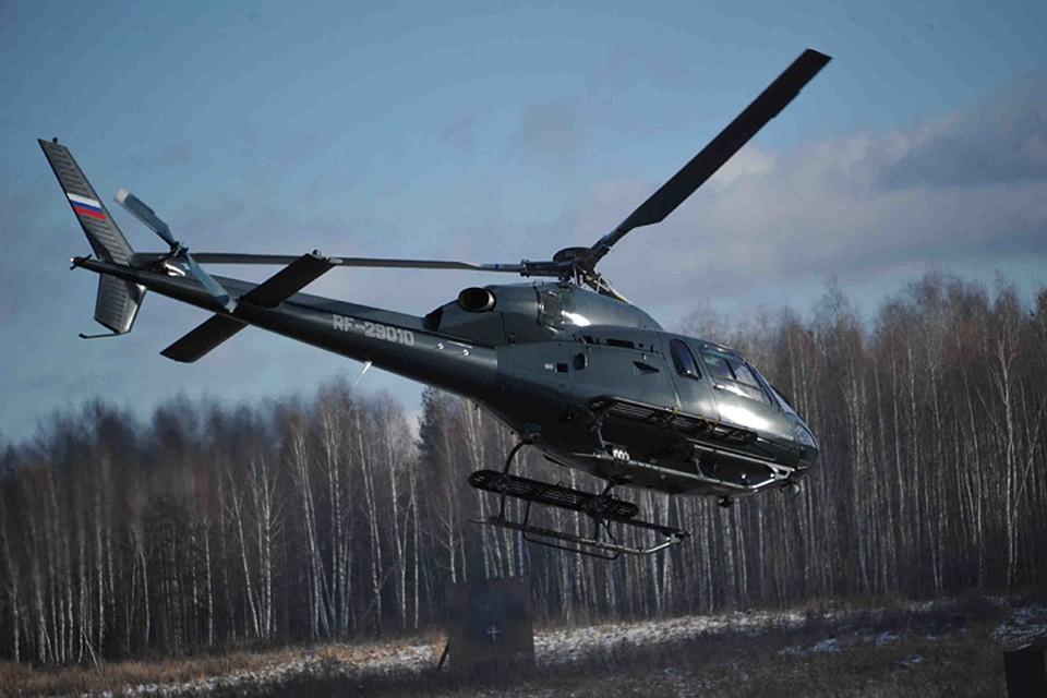 ВЛенобласти, запутавшись впроводах, возеро упал личный вертолет